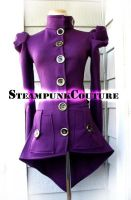 Purple SteamCoat by ByKato