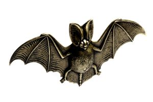 Steampunk Brass Bat by CatherinetteRings
