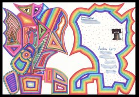 Mailart to Andrea Kato 2 by JimmyMcCullough