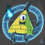 Prize Art [Disney-Club] :: Bill Cipher by stinawo