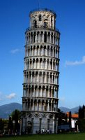 Leaning Tower of Pisa by mhalpert