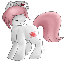 Nurse Red Heart's Solace by Dracini