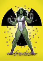 She-Hulk - Spring by Almayer