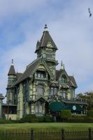 the carson mansion by Erica-Danes