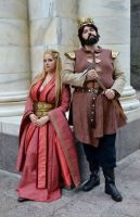 Robert and Cersei by DistantDream