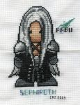 Sephiroth In Stitches by gatchacaz