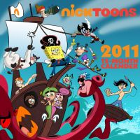 Calender Cover: Pirates by Coonfoot
