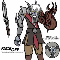 Face Off Concept: Norse Dark Elf by ENTITY-JS