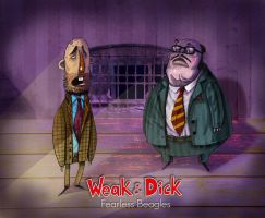 weak and dick by bahram-h-moghadam