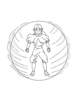 Aang Avatar State by Writer-Colorer