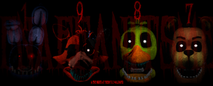 1987 (A Five Nights At Freddy's 2 Wallpaper) by FNAFfanITSME