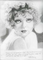 Clara Bow by silverghosty
