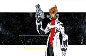 Mordin Mass Effect 2 by Hodges-Art