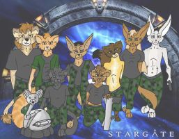 Stargate team sg-7-ao by KatVixen