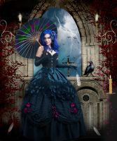 The Crow Mistress 3 ... by gridfrnd