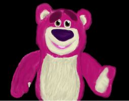 Lotso from Toy Story 3 by KeroroKuchiki