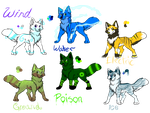 Wolf Adopts 50 Points (open) by jenny96ist-adopts