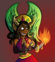 Queen of Flame by Poj5