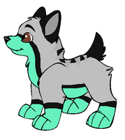 Xylia x Aero Puppy For Lupine95 by Twine-Adopts
