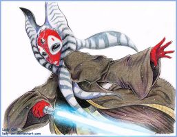 Shaak Ti by Lady-Owl