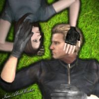 As our love blossoms by IamAlbertWesker