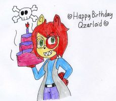 Happy Birthday Qzarloid by ElementBrigade