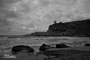 Black And White Tower by Maltese-Naturalist