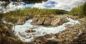 whitewater pano by kihsleek