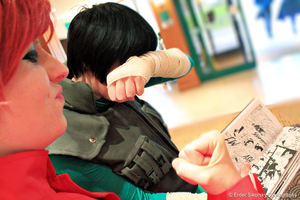 Cosplay: Lee + Gaara by Dekkii