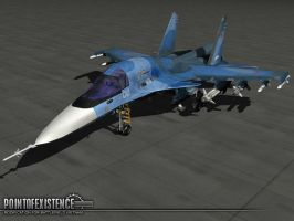 Su-34 render 1 by senor-freebie