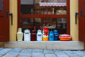 Milk churns by Anetto87
