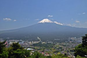 The Great Fuji by Otone