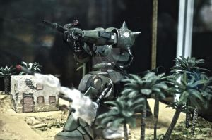 this is war ( zaku 2 ) by paanrev