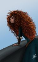 Waiting for Merida by RodrigoYborra