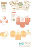 Royal Tastebud corporate identity 4 by UMINluvILLUSTRATION