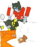 Why Sunstreaker is so grumpy by Kage-Jaganshi