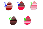 WoF egg adopts 7 {VALENTINES SPECIAL!} by Oasis-The-SandNight