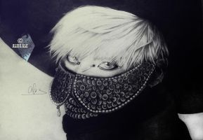 Kim JongHyun (everybody) from SHINee by aliss-ale