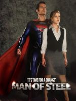 man of steel lois and superman by rocketman28