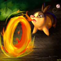 Flame Wheellll by LiddoCait