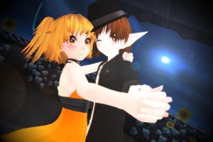 MMD Taruto and Pudding by Xella-15