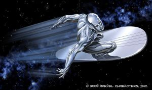The Silver Surfer by PatrickMcEvoy