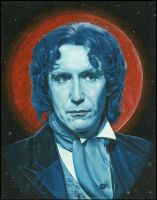 Paul McGann - The 8th Doctor by caldwellart