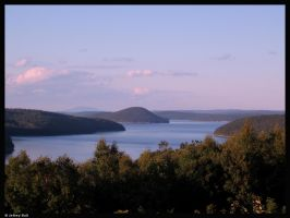 Quabbin Reservoir by JBail