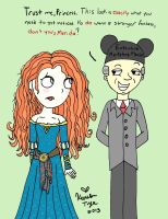 Merida's Makeover by sailorlovesong