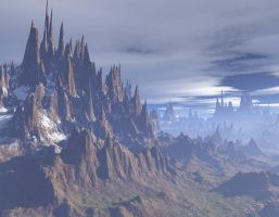 Spine of the world by dragonserpent