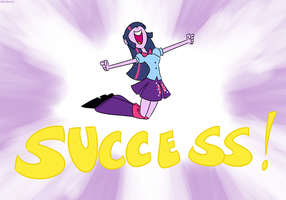 Equestria Girls' Twilight Sparkle Success by MysteryFanBoy718