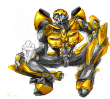 Bumblebee Incomplete by mithrilarrow