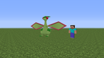 Flygon in minecraft... by Yabout