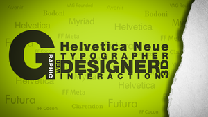Typography Helvetica by Salil-Agnihotri